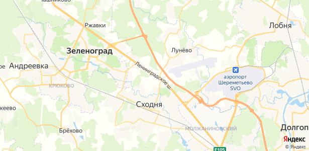 Чёрная Грязь на карте