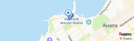 Голубая волна ФГУ на карте Анапы
