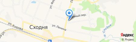 Детское поликлиническое отделение на карте Химок
