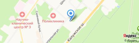 Резиденция Бьюти на карте Москвы