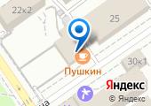 У Пушкина на карте