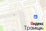 Схема проезда до компании Банк Воронеж в Троицке