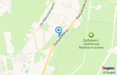 Местоположение на карте пункта техосмотра по адресу г Москва, г Троицк, ш Калужское, д 16