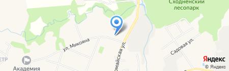 Детский сад №31 Золотой ключик на карте Химок