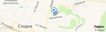 Почтовое отделение №141421 на карте Химок