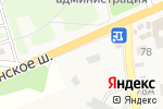 Схема проезда до компании Магазин цветов в Гольево