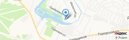 Заречье на карте Москвы