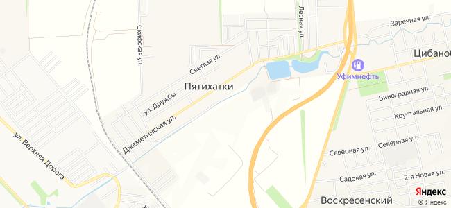 Пятихатки - объекты на карте