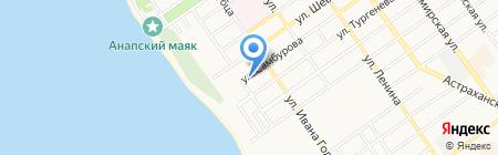 ДЕМОНТАЖ+ на карте Анапы