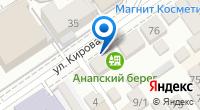 Компания Анапский берег на карте