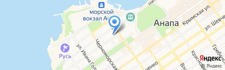 Управление ФСБ России по Краснодарскому краю на карте Анапы