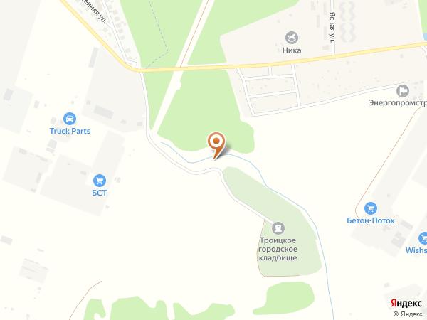 Остановка «Кладбище», проезд без названия (1000978) (Москва)