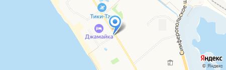 Джемайка на карте Анапы