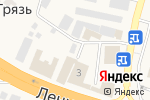 Схема проезда до компании Платный общественный туалет в Чёрной Грязи