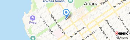 Ателье мебели на карте Анапы