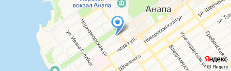 Твое на карте Анапы