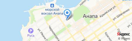 Дешёвая аптека на карте Анапы