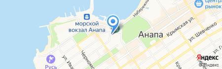 Храм Преподобного Онуфрия Великого на карте Анапы