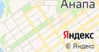 Анапа-Татьянин день на карте