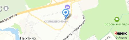 Бергамо на карте Москвы