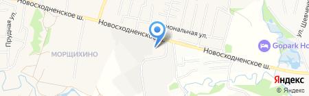 КРЕПМАРКЕТ на карте Химок