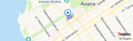 Ясон на карте Анапы