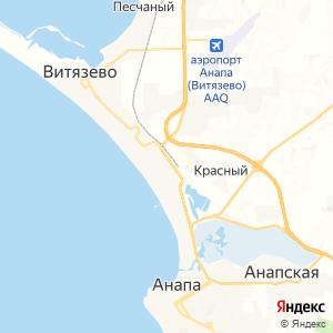 Карта города Джемете