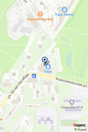 RED TOWN на карте Красногорска
