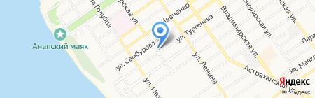 Фабрика натяжных потолков на карте Анапы