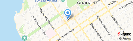 Бизнес-С на карте Анапы