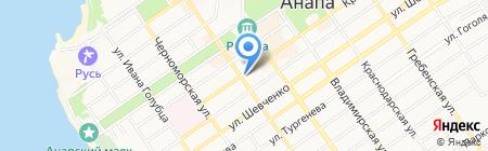 Шторм на карте Анапы