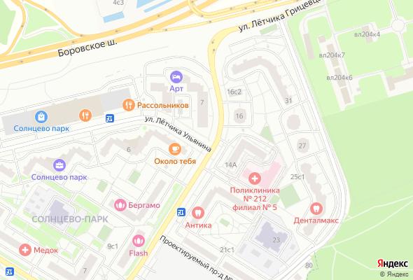 жилой комплекс Солнцево парк