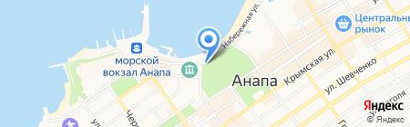 Эгоист на карте Анапы