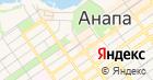 Фанагория на карте