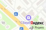 Схема проезда до компании 36,6 в Красногорске