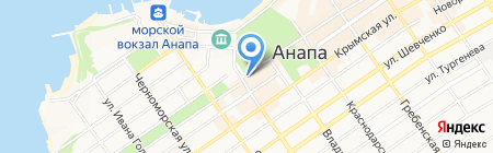 Терраса на карте Анапы
