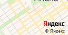 Лайза на карте