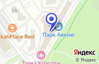 Схема проезда до компании МАГАЗИН СУМКИ И АКСЕССУАРЫ в Красногорске