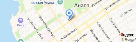 Сервис-Мобайл на карте Анапы