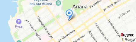 Идеал на карте Анапы