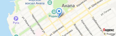 Zebra на карте Анапы
