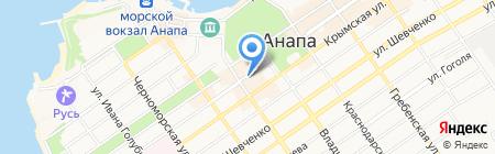 Steilmann на карте Анапы