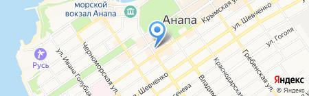 Стимул на карте Анапы