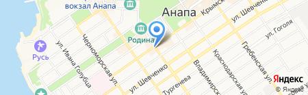 Отличный от других на карте Анапы