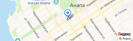 МегаФон на карте Анапы