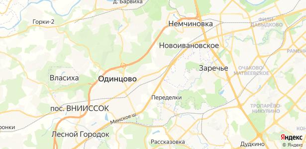 Мамоново на карте