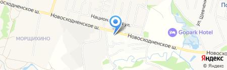 МакАвто на карте Химок
