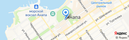 Столичный на карте Анапы