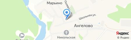 Ангеловская средняя общеобразовательная школа на карте Ангелова