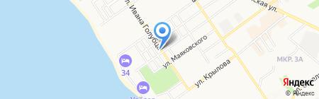 ЕВРОДЕНТ на карте Анапы